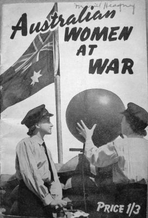 Aaustralian Women at War booklet