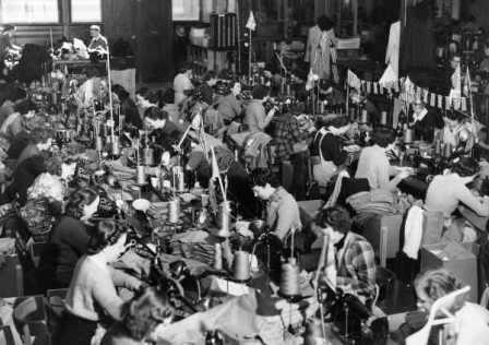 clothing workers